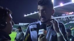 """Marquinhos, sobre momento ruim do Figueirense: """"Não temos mais o que falar"""""""