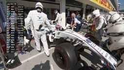 Substituto de Felipe Massa, Paul Di Resta abandona o GP da Hungria