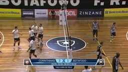 Corinthians vence o Botafogo e garante vaga na Superliga de Vôlei Masculino