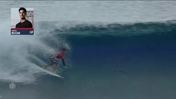 Glenda Kozlowski e Teco Padaratz analisam etapa do Taiti da Liga Mundial de Surfe