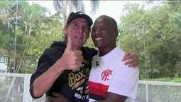 ídolos, Adílio e Mendonça lembram da rivalidade entre Botafogo e Flamengo nos anos 80