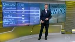 Deve chover bastante no Rio de Janeiro e em São Paulo até sábado (19)