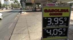 Preço da gasolina no DF sobe mais uma vez