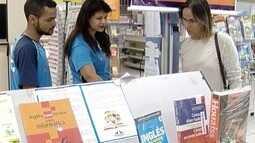 Venda de livros segue em alta, mesmo com crise financeira