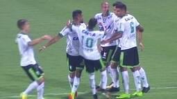 Os gols de Goiás 1 x 1 América-MG pela 21ª rodada do Campeonato Brasileiro