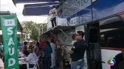 Ônibus da saúde no Ação Cidadania em Campo Grande