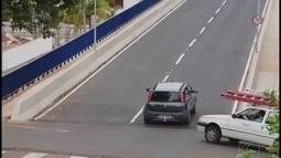 Viaduto da Rua Olegário Maciel é liberado para tráfego em Uberlândia