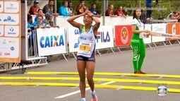 Joziane Cardoso chega em terceiro na Meia Maratona Internacional do Rio de Janeiro
