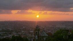 Eclipse solar pôde ser acompanhado por pernambucanos