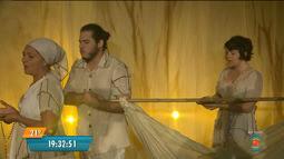 Espetáculo de Teatro é realizado durante programação do Festival de Inverno de CG