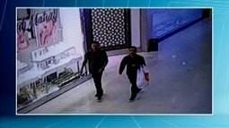 Polícia de Ipatinga procura por dois casais que furtaram uma loja de celulares