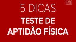 Lia Salgado dá 5 dicas para o teste de aptidão física