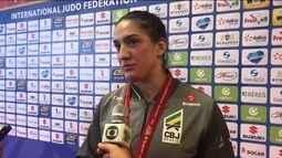Mayra Aguiar se torna a maior medalhista brasileira em Mundiais de judô com cinco pódios