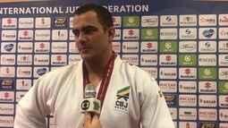 David Moura fala sobre a prata conquistada no Mundial de Judô