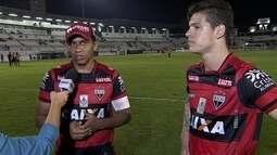 """Walter fala sobre gol e passe para golaço: """"Fazia tempo que não fazia gol e dava passe"""""""