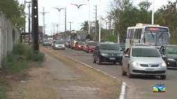 Confira a movimentação do trânsito em São Luís