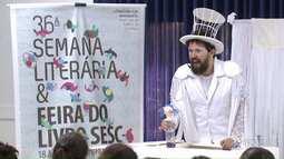 Semana Literária do Sesc começa com várias atrações em Maringá