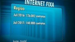 Número de contratos de internet cresce 11% no Oeste Paulista