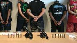 Cinco homens são presos durante o velório do integrante de uma facção criminosa em JP