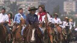 Desfile Farroupilha é destaque no dia 20 de setembro