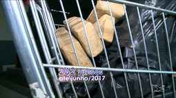 Carga de maconha apreendida pela Senarc pesa 3,2 toneladas, diz perícia