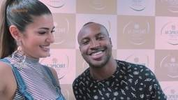 Vivian Amorim entrevista cantor Thiaguinho