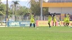 ABC treina em Santa Catarina para jogo contra o Figueirense neste sábado