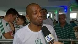 Ídolos dos anos passados do Palmeiras visitaram a cidade de Rio Preto