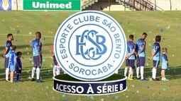 TV TEM homenageia o São Bento pelo acesso da equipe à Série B do Brasileirão