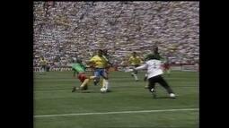 Baú do Bem relembra participações de Romário nas Copas de 1990 e 1994