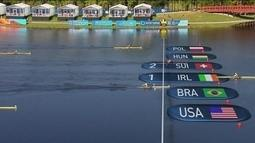 Uncas Batista se classifica para final do single skiff peso leve do Mundial de Remo