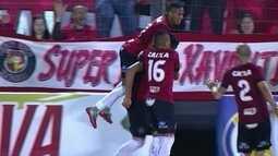 O gol de Brasil-RS 1 x 0 Juventude pela 28ª rodada da série B do Brasileirão
