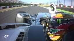 Lewis Hamilton vibra com vitória e fica cada vez mais perto do título