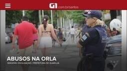 G1 em 1 Minuto: Guarujá realiza força-tarefa para coibir abusos no feriado prolongado