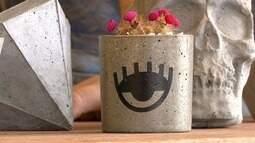 Em Movimento: Peças feitas com concreto ganham espaço na decoração