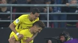 Com Neymar em campo, PSG vence o Dijon pelo campeonato francês