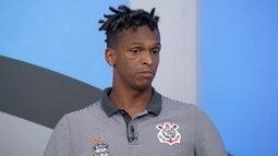 Jô diz que Corinthians precisa manter a concentração durante os 90 minutos