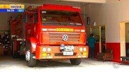 Corpo de Bombeiros de Santa Rosa suspende serviços