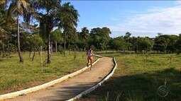 Lívia Marinho monta estrutura especial para treinamentoe e colhe frutos na corrida de rua