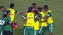 O gol de Goiás 1 x 0 Juventude pela 30ª rodada da série B do Brasileirão