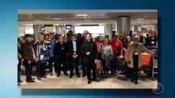 Após susto no avião durante voo na Europa, padre agradece: 'Intercessão dos Mártires'