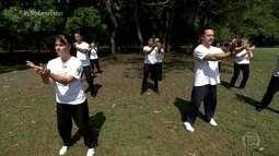 Prática do Tai Chi Chuan, arte marcial chinesa, traz mais qualidade de vida aos adeptos
