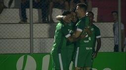Os gols de Luverdense 1 x 2 Goiás pela 31ª rodada da série B do Brasileirão