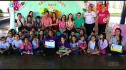 Escola Cecília Meireles recebe prêmio do Televisando