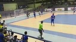 Goleiro marca dois gols da própria área no Campeonato Roraimense de Futsal 2017