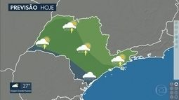 São Paulo tem risco de chuva forte