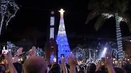Abertura do Natal de Luz emociona o público na Praça do Ferreira