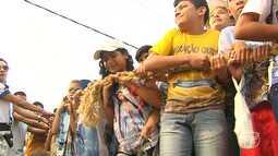 Fé e devoção marcam o 11º Círio das Crianças de N. Sra. da Conceição em Santarém