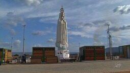 Estátua de nossa senhora de Fátima é esperança para o turismo religioso no Cariri