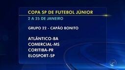 Confira os grupos que os times da região de Itapetininga ficaram na Copa São Paulo